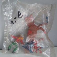 Figuras de Goma y PVC: VAQUERO A CABALLO DE LAFREDO, EN BOLSA SIN ABRIR, COWBOY SERIE DEL OESTE, TAMAÑO PEQUEÑO 1A ÉPOCA.. Lote 142322046