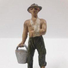 Figuras de Goma y PVC: PRISIONERO INGLES . PUENTE SOBRE EL RIO KWAI . REALIZADO POR JECSAN . AÑOS 50 EN GOMA. Lote 142702802