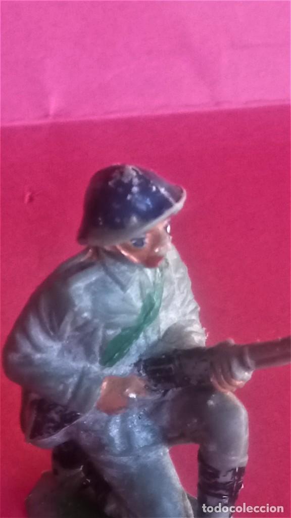 Figuras de Goma y PVC: PATRULLA SOLDADOS JAPONESES,JECSAN ?,AÑOS 70 OFICIAL Y TROPA,NO PECH,REAMSA,COMANSI,SELVA,JAPON - Foto 11 - 142775834