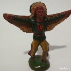 Figuras de Goma y PVC: FIGURA INDIO REAMSA GOMA. Lote 142792682