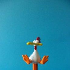 Figuras de Goma y PVC: CAPUCHÓN PARA LÁPIZ O BOLÍGRAFO DE POLLO - VACA POLLO - CARTOON NETWORK 1998. Lote 142868190