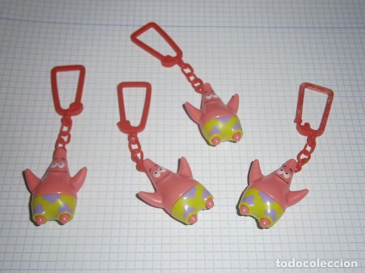 Especial Llavero 2012 2013 Serie Kinder Sorpresa Estrella Figura Patricio ulFKJcT513