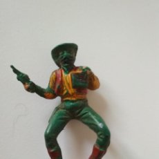 Figuras de Goma y PVC: BANDIDO VAQUERO GOMA AÑOS 50. Lote 143059106