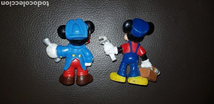 Figuras de Goma y PVC: Lote 2 figuras pvc Mickey y Minnie Bullyland - Foto 2 - 143075478