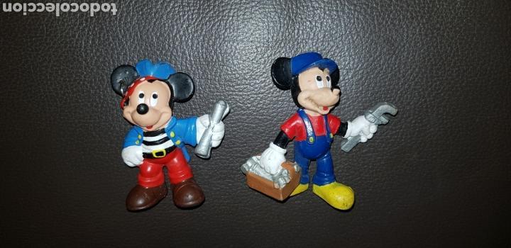 Figuras de Goma y PVC: Lote 2 figuras pvc Mickey y Minnie Bullyland - Foto 3 - 143075478
