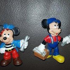 Figuras de Goma y PVC: LOTE 2 FIGURAS PVC MICKEY Y MINNIE BULLYLAND. Lote 143075478