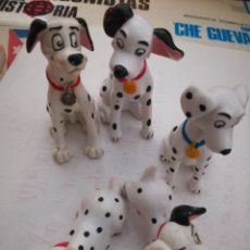 Figuras de Goma y PVC: FAMILIA DÁLMATAS. Lote 143177985