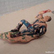 Figuras de Goma y PVC: FIGURA DE PLÁSTICO 7º DE CABALLERÍA REAMSA. Lote 143189734