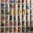 Figuras de Goma y PVC: 66 FIGURITAS Y MUÑECOS DE JUGUETE VARIOS PVC GOMA , ALGUNOS CON MUCHOS AÑOS MICKEY , DISNEY FIGURAS. Lote 143201198