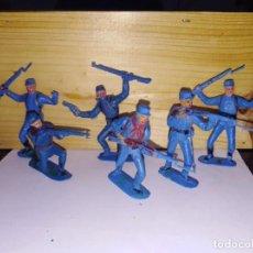 Figuras de Goma y PVC: LOTE DE NORDISTAS AMERICANOS GUERRA CIVIL AMERICA. Lote 143332146