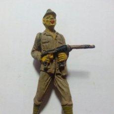 Figuras de Goma y PVC: FIGURA SOLDADO DE GOMA RIO KWAI JECSAN. Lote 143335514