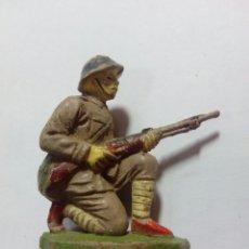Figuras de Goma y PVC: FIGURA SOLDADO DE GOMA JECSAN RIO KWAI. Lote 143336009