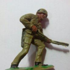 Figuras de Goma y PVC: FIGURA SOLDADO DE PLÁSTICO JECSAN RIO KWAI. Lote 143336158