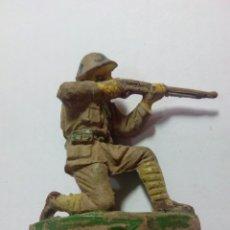 Figuras de Goma y PVC: FIGURA SOLDADO DE GOMA JECSAN RIO KWAI. Lote 143336701