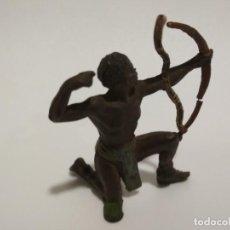 Figuras de Goma y PVC: FIGURA AFRICANO JECSAN SERIE TARZÁN. Lote 143343746