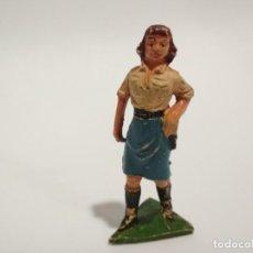 Figuras de Goma y PVC: FIGURA CAZADORA JECSAN ÁFRICA SALVAJE. Lote 143343802