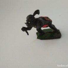 Figuras de Goma y PVC: FIGURA GUERRERO AFRICANO. Lote 143344294