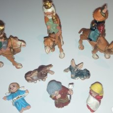 Figuras de Goma y PVC: FERRANDIZ. BELEN FERRANDIZ CABEZONES O CABEZUDOS DE PECH. REYES MAGOS. NACIMIENTO. Lote 143358357