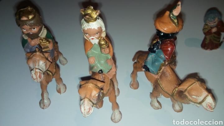 Figuras de Goma y PVC: FERRANDIZ. BELEN FERRANDIZ CABEZONES O CABEZUDOS DE PECH. REYES MAGOS. NACIMIENTO - Foto 3 - 143358357