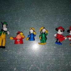 Figuras de Goma y PVC: FIGURAS DISNEY DESMONTABLES Y ARTICULADAS. Lote 143381949