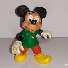 Figuras de Goma y PVC: BULLY : ANTIGUA FIGURA DE GOMA DE MICKEY MOUSE WALT DISNEY PRODUCTIONS AÑOS 80 MADE IN GERMANY. Lote 143393910