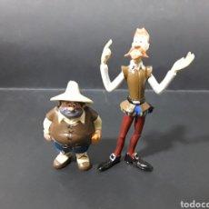 Figuras de Goma y PVC: LOTE 2 FIGURAS PVC SANCHO PANZA Y QUIJOTE. CÓMIC SPAIN COMANSI. Lote 143537740