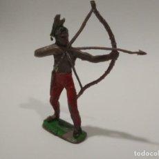 Figuras de Goma y PVC: FIGURA INDIO COMANSI PRIMERA ÉPOCA. Lote 143568610