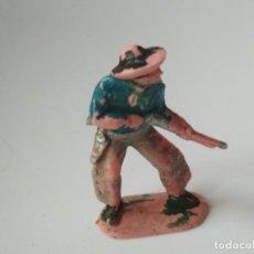 Figuras de Goma y PVC: FIGURA VAQUERO AÑOS 60. Lote 143573242