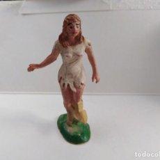 Figuras de Goma y PVC: FIGURA JANE TARZAN EN GOMA MARCA PECH AÑOS 60 DIFICIL. Lote 143589998
