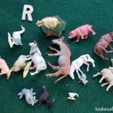 Figuras de Goma y PVC: LOTE BELEN FIGURAS ANIMALES. Lote 143682042