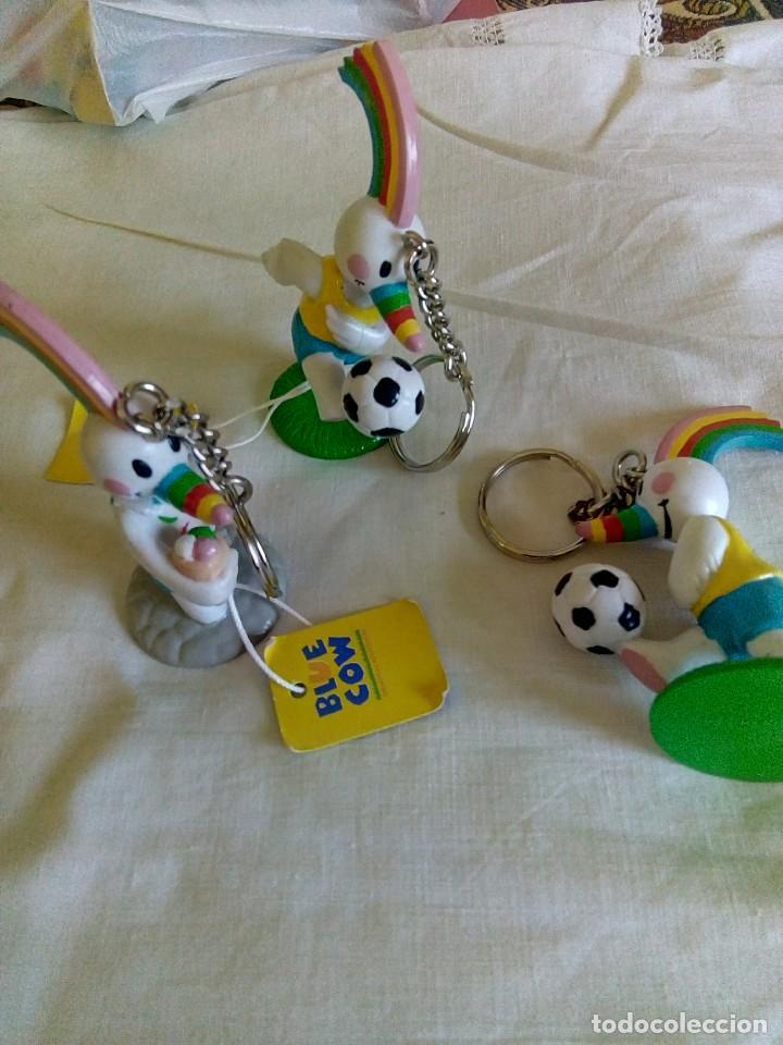 LLAVERO CURRO EXPO 92 PVC (Juguetes - Figuras de Goma y Pvc - Otras)