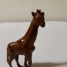 Figuras de Goma y PVC: FIGURA JIRAFA DE LAFREDO, JECSAN GOMA. Lote 143740886