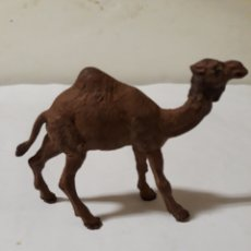 Figuras de Goma y PVC: FIGURA PECH DROMEDARIO CAMELLO EN GOMA. Lote 143742132