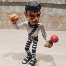 Figuras de Goma y PVC: FIGURA PVC O GOMA DURA MICHAEL JACKSON COMICS SPAIN. Lote 143761414