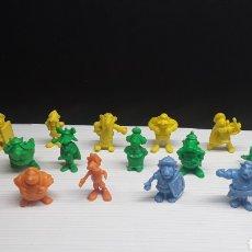 Figuras de Goma y PVC: DUNKIN...FIGURAS PROMOCIONALES ASTÉRIX PASTELITOS GITANITOS ORTIZ..UDERZO-80...2°SERIE. Lote 136145566