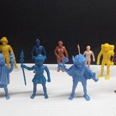 Figuras de Goma y PVC: FIGURAS DUNKIN TARZAN COLECCION COMPLETA...MARCA TITO..AÑOS 70/80.... Lote 143842073