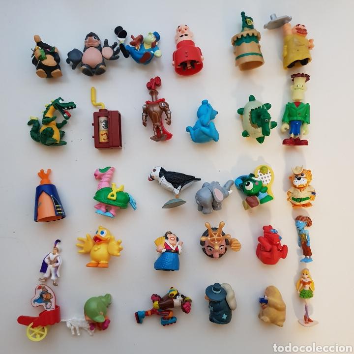 LOTE 100 FIGURAS KINDER SORPRESA (Juguetes - Figuras de Gomas y Pvc - Kinder)