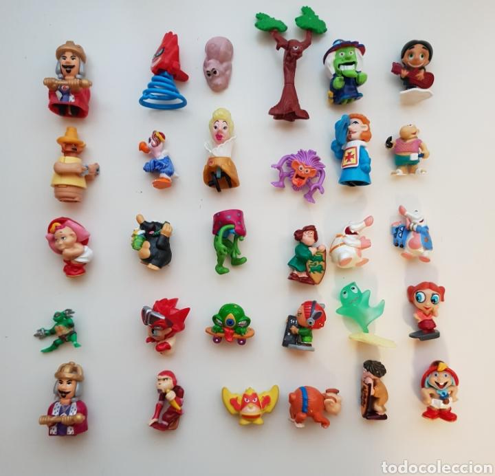 Figuras Kinder: Lote 100 figuras Kinder Sorpresa - Foto 2 - 143858552