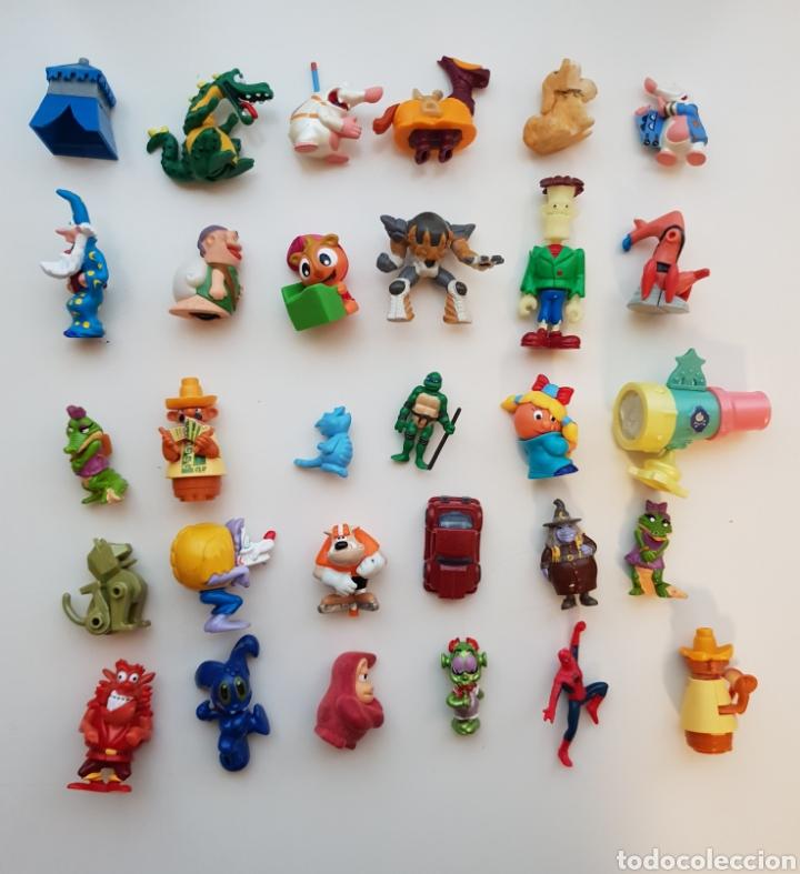 Figuras Kinder: Lote 100 figuras Kinder Sorpresa - Foto 3 - 143858552