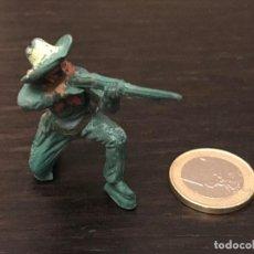 Figuras de Goma y PVC: FIGURA SOLDADO PVC PLASTICO OESTE BAQUERO INDIO CABALLO - NO PECH LAFREDO JECSAN REAMSA COMANSI . Lote 143936818