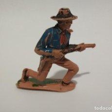 Figuras de Goma y PVC: VAQUERO JECSAN. Lote 144045186