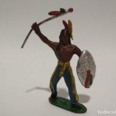 Figuras de Goma y PVC: FIGURA INDIOS COMANSI. Lote 144045342