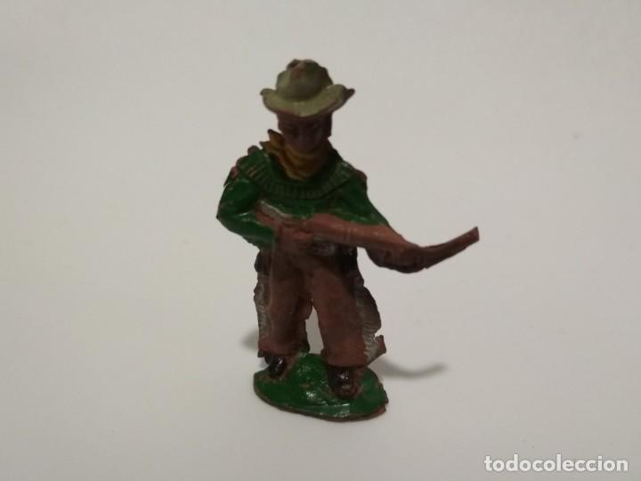 FIGURA VAQUERO GOMA CAPELL AÑOS 50 (Juguetes - Figuras de Goma y Pvc - Capell)