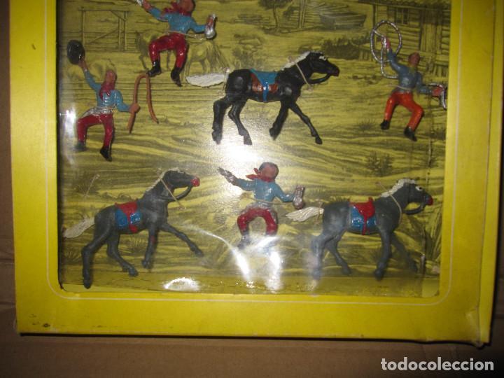 Figuras de Goma y PVC: CAJA DE VAQUEROS DE OLIVER/ PECH DESCATALOGADA - Foto 5 - 144104094