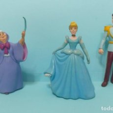 Figuras de Goma y PVC: FIGURAS PVC - DISNEY - LA CENICIENTA - VARIAS MARCAS - LOTE 2 BULLYLAND. Lote 144283562