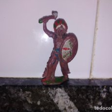 Figuras de Goma y PVC: FIGURA OESTE INDIO VAQUERO LAFREDO GOMA. Lote 144322786