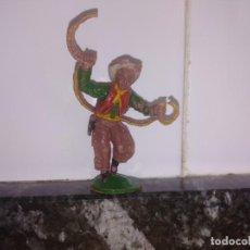 Figuras de Goma y PVC: FIGURA OESTE VAQUERO LAFREDO GOMA. Lote 144322882