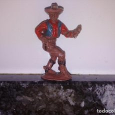 Figuras de Goma y PVC: FIGURA OESTE VAQUERO LAFREDO GOMA. Lote 144323262