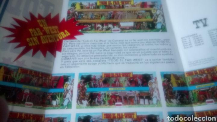 Figuras de Goma y PVC: TRIPTICO TODO EL FAR WEST DE COMANSI. - Foto 2 - 144350289