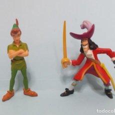 Figuras de Goma y PVC: FIGURAS PVC - PETER PAN / DISNEY - BULLYLAND 2005. Lote 144371386